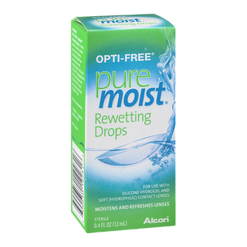 Opti-Free Pure Moist Rewetting Drops
