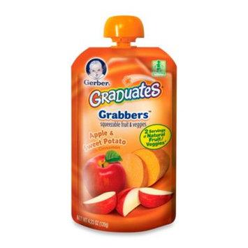Gerber Graduates Grabbers Apple/Sweet Potato