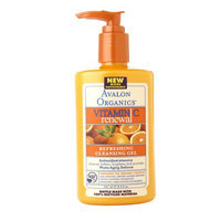 Avalon Organics Refreshing Cleansing Gel with Vitamin C - 8.5 oz