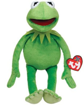 TY The Muppets Kermit The Frog Plush Toy-One Size, GREEN