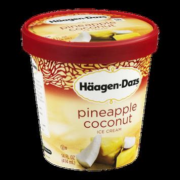 Häagen-Dazs Ice Cream Pineapple Coconut