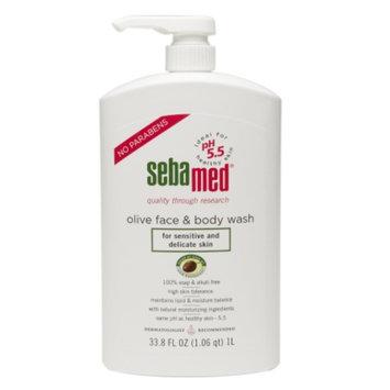 Sebamed Olive Face & Body Wash, 33.8 fl oz
