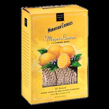 Salem Baking Co. Moravian Cookies Meyer Lemon