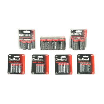 Eveready Battery Company DieHard 6V Alkaline Batteries - EVEREADY BATTERY COMPANY