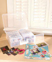 Large Photo Keeper with 12 Cases - by Iris
