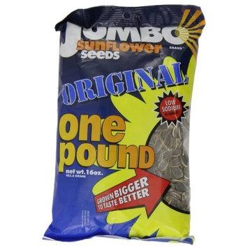 JUMBO Sunflower Seeds, Original, 16-Ounce (Pack of 6)