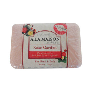 A La Maison 1141498 Bar Soap Rose Garden 8.8 Oz