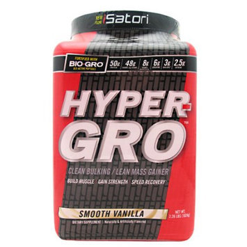 Isatori Sports Nutrition iSatori Hyper-Gro Smooth Vanilla - 16 Servings
