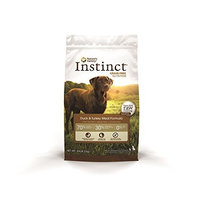 Instinct Grain-Free Duck Meal & Turkey Meal Dry Dog Food by Nature's Variety, 4.4-Pound Package