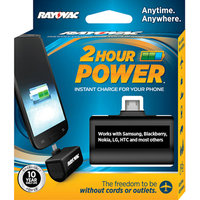 Rayovac 2-Hour Power Micro Charger