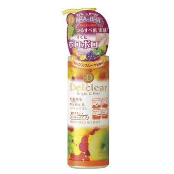 Meishoku Delclear Bright and Peel Facial Peeling Gel - Mix Fruit 180ml