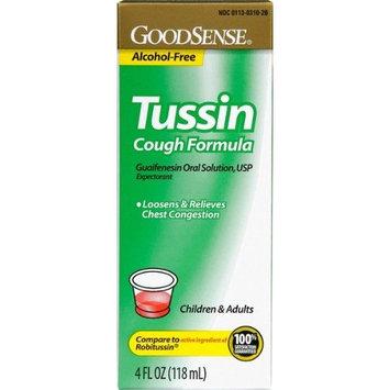 Good Sense Tussin C/S Cough Suppression