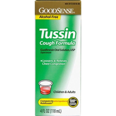 Good Sense Tussin C/S Cough Suppression