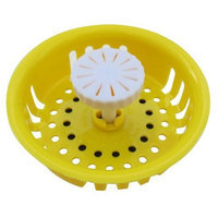 Bath Solutions Inc Home Air Care Scented Sink Strainer and Stopper, Assorted Fragrances