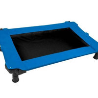 Pet Gear Portable Cot for cats and dogs up to 50-pounds, Blue Sky
