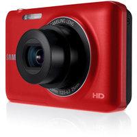 Samsung Red EC-ST71TZBPBPA Digital Camera with 14.2 Megapixels and 5x Optical Zoom