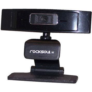 AWA Technology ROCKSOUL 1080p HD Webcam, Black