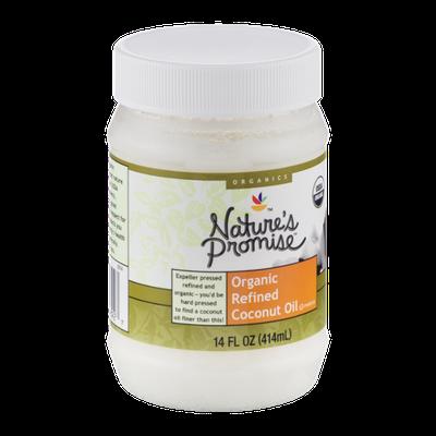 Nature's Promise Organics Organic Refined Coconut Oil