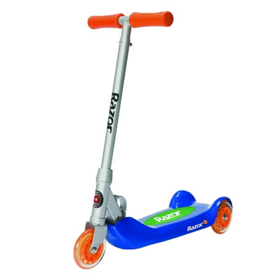Razor Junior Folding Kiddie Kick Scooter Blue Ages 4+