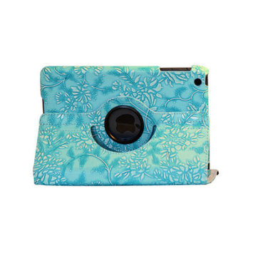 Bargain Tablet Parts Ipad 2 and Ipad 3 Embossed Flower Rotating Case
