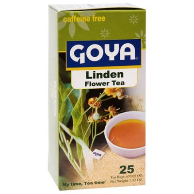 Goya® Linden Flower Tea - Caffeine Free