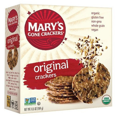 Marys Gone Crackers Mary's Gone Crackers, Original, 6.5-Ounce Boxes (Pack of 12)