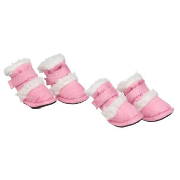 Pet Life Shearling Duggz Shoes