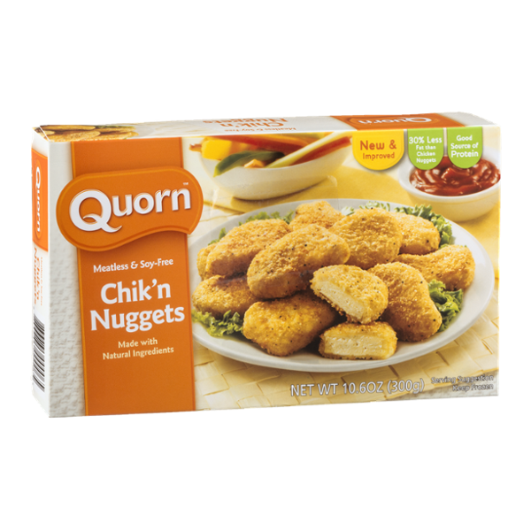 Quorn Chik'n Nuggets Meatless & Soy-Free