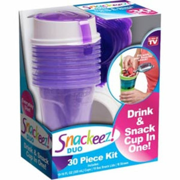 As Seen On TV - SNAKEEZ ! DUO - Drink & Snack Cup