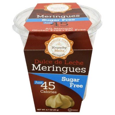 Krunchy Melts 0.7 oz. Meringues Cup Sugar Free Dulce De Leche Case Of 12