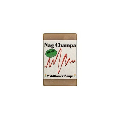 Wildflower Soaps Nag Champa 4 oz. Soap Bar (3 Pack)