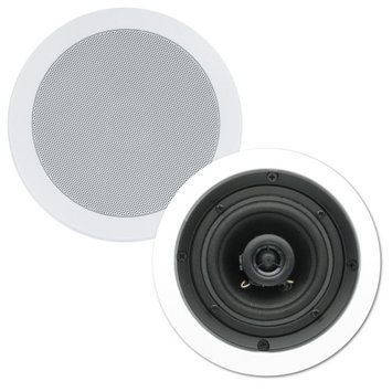 Theater Solutions In Ceiling Surround Sound Home Theater Contractor Pair CS4C