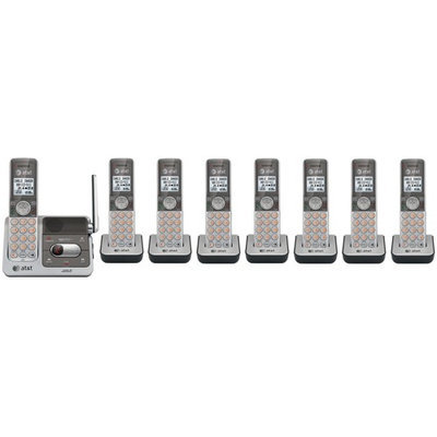 AT & T CL82501 + (3) CL80101 DECT 6.0 Cordless Phone