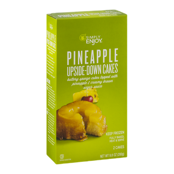 Simply Enjoy Pineapple Upside-Down Cakes - 2 CT