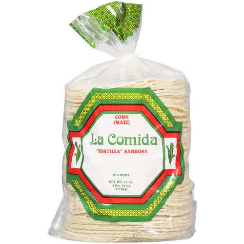 LA Comida: Tortillas Corn