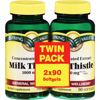 Spring Valley Concentrated Extract Milk Thistle Softgels