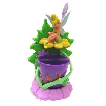 mzb Tinkerbell Sparkling Smile Toothbrush Gift 3 Pcs Set (Toothbrush Holder, Toothbrush, Rinse Cup)