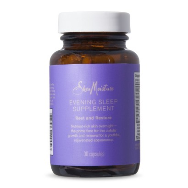 SheaMoisture Night Time Cell Renewal Vitamins - 30 ct.