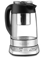 Cuisinart PerfecTemp Programmable Tea Steeper & Kettle Stainless steel