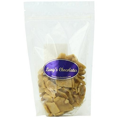Lang's Chocolates Traditional Peanut Brittle Certified Kosher-Dairy, 8-Ounce Bags (Pack of 3)