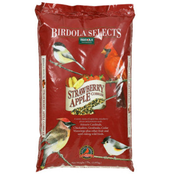 Birdola Strawberry Apple Cobbler Mix Wild Bird Food