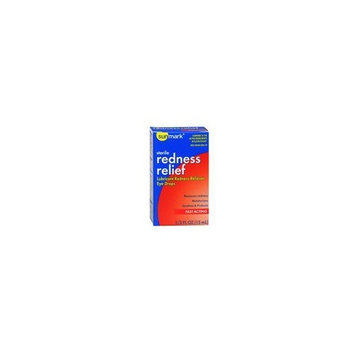 Sunmark Sunmark Sterile Redness Relief Lubricant Eye Drops, 0.5 oz