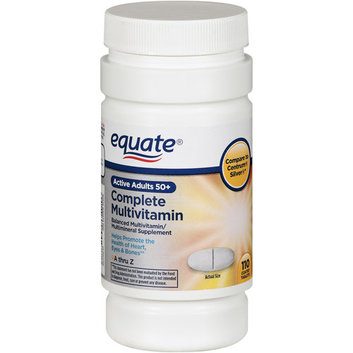 Equate Active Adults 50+ Complete Multivitamin/Multimineral Supplement