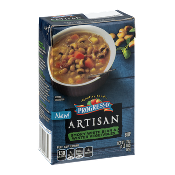 Progresso Artisan Soup Smoky White Bean & Winter Vegetables