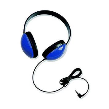 Califone International Califone 2800-BL Listening First Headphones in Blue (Set of 6)