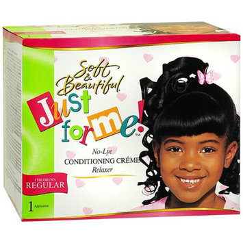 Soft & Beautiful Just For Me! No-Lye Condition Creme Hair Relaxer Kit