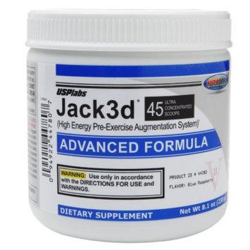 USPlabs Jack3d Advanced Formula Blue Raspberry
