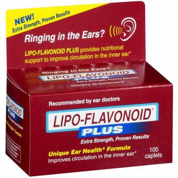 Lipo-Flavonoid Plus Dietary Supplement - Unique Ear Health Formula 100 ct