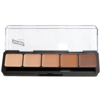 Graftobian High Definition Glamour Creme Palette, Cool #2
