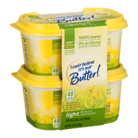 I Can't Believe It's Not Butter! Light 30% Vegetable Oil Spread - 2 CT